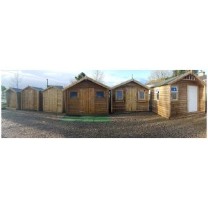 Timber and Steel Sheds